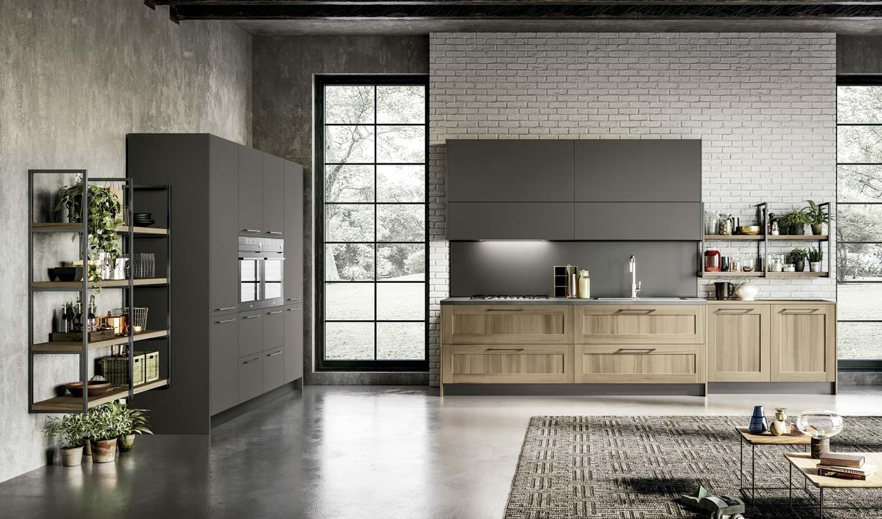 Modern Kitchen Arredo3 Cloe Model 2