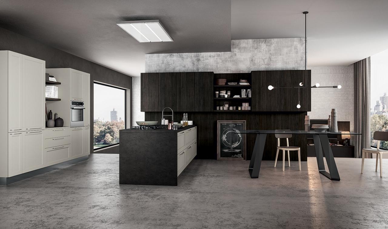 Cocina Moderna Arredo3 Frame Modelo 02
