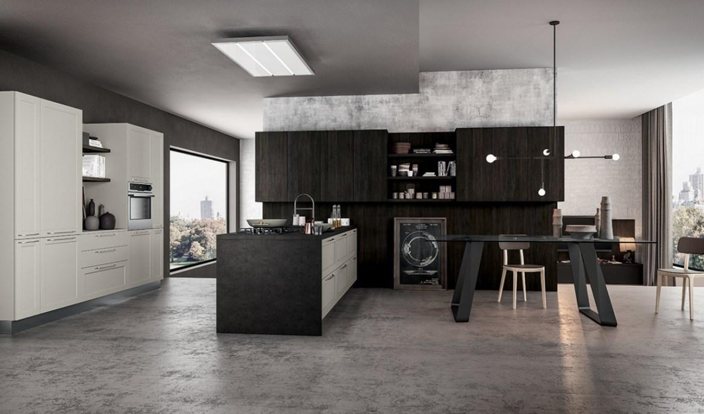 Cocina Moderna Arredo3 Frame Modelo 02 - 01