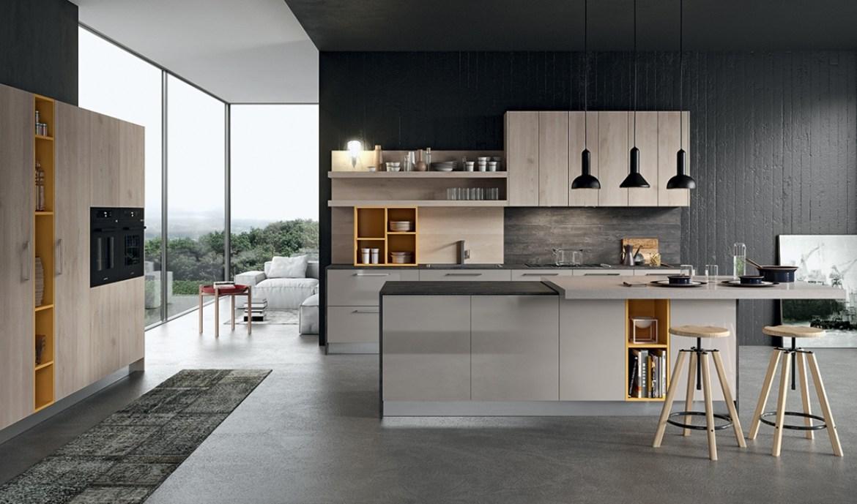 Modern Kitchen Arredo3 Round Model 04 - 03
