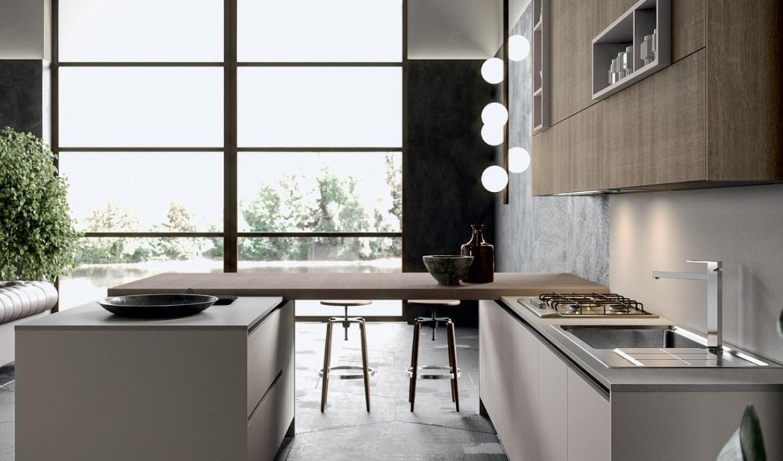 Modern Kitchen Arredo3 Round Model 05 - 02