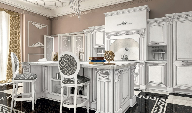 Classic Kitchen Arredo3 Viktoria Model 01 - 05