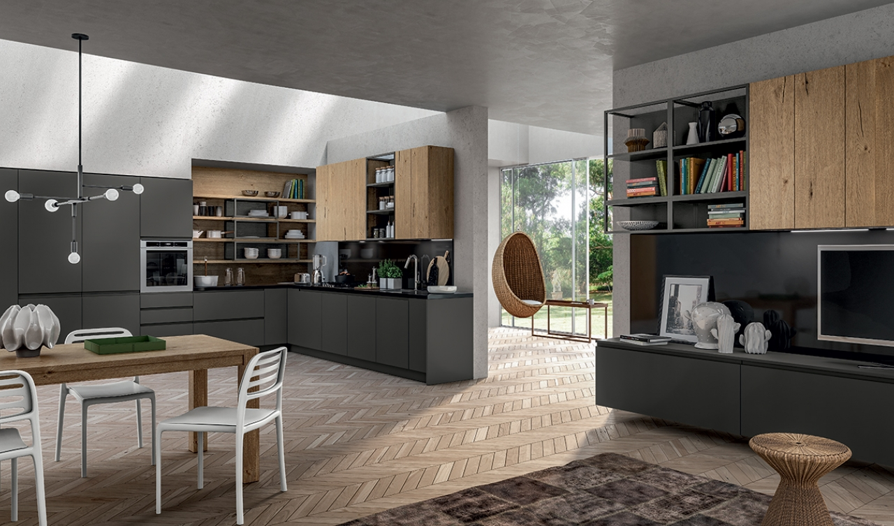 Modern Kitchen Arredo3 Wega Model 02