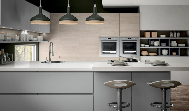 Modern Kitchen Arredo3 Wega Model 04 - 04