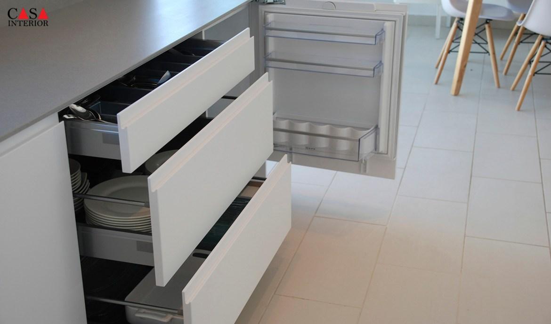 Küchentime Inline Alpine White Benissa
