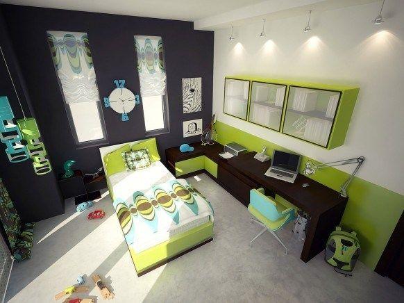 Dormitorio Verde 8 Casa Web