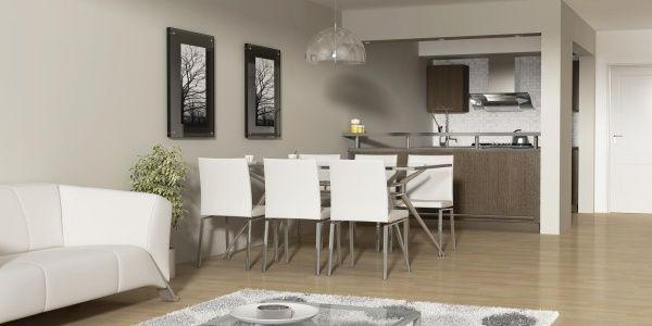 Como decorar sala comedor y cocina minimalista. 1000 images about ...