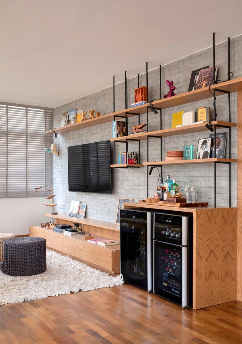 Apartamento nos Jardins assinado pela designer de interiores CACAU RIBEIRO foto 11 Vision Art NEWS