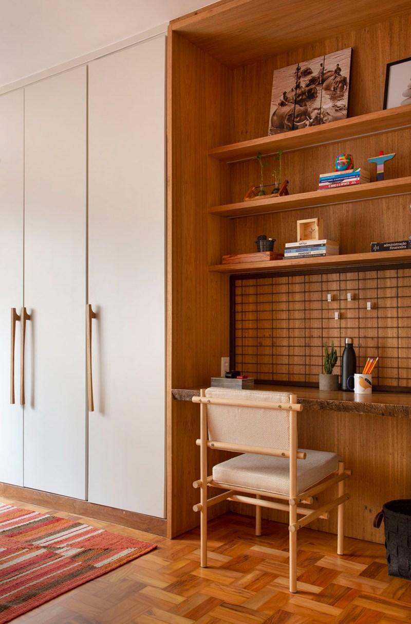 Apartamento nos Jardins assinado pela designer de interiores CACAU RIBEIRO foto 22 Vision Art NEWS