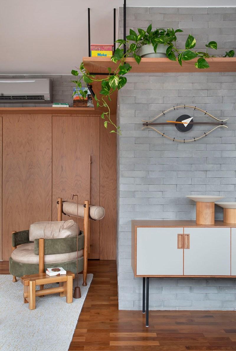 Apartamento nos Jardins assinado pela designer de interiores CACAU RIBEIRO foto 4 Vision Art NEWS