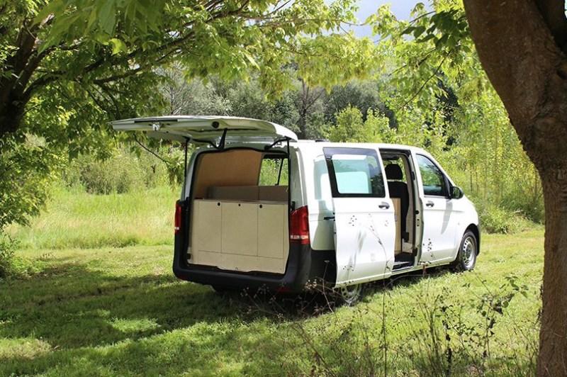 Designer transforma carro em casa para acampamentos 02 Vision Art NEWS