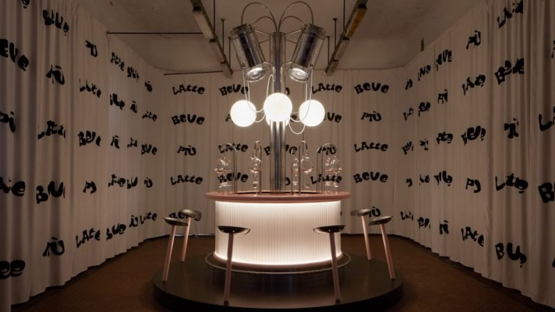 laranja mecanica leite bar herbarium alcova design dezeen 01 Vision Art NEWS