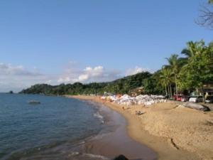 Praia Grande em Ilhabela