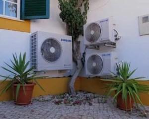 Ar condicionado em remodelação