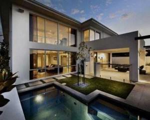 Construção de vivenda de luxo