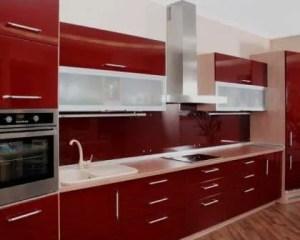 Móveis de cozinha termolaminados