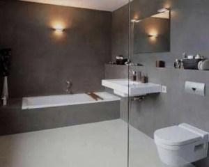 Microcimento casa de banho