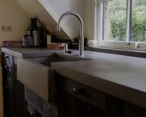 Microcimento cozinha