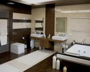 Remodelação de casa de banho de luxo