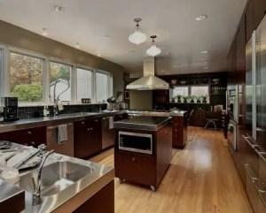 Remodelação de cozinha de luxo em moradia