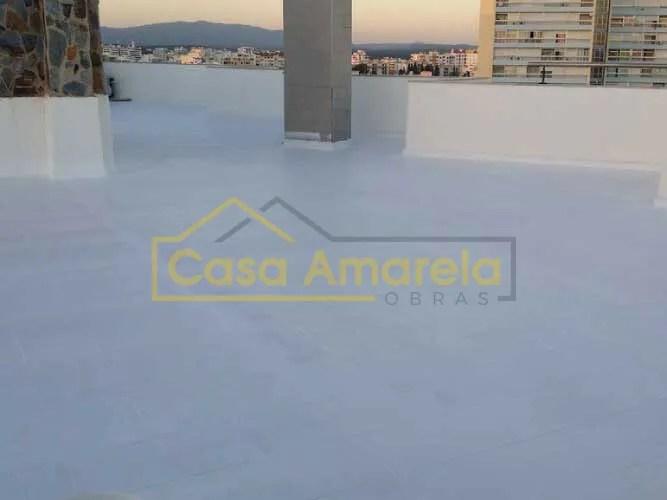 Impermeabilização de cobertura no Algarve