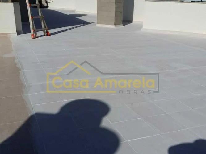 Impermeabilização em terraço