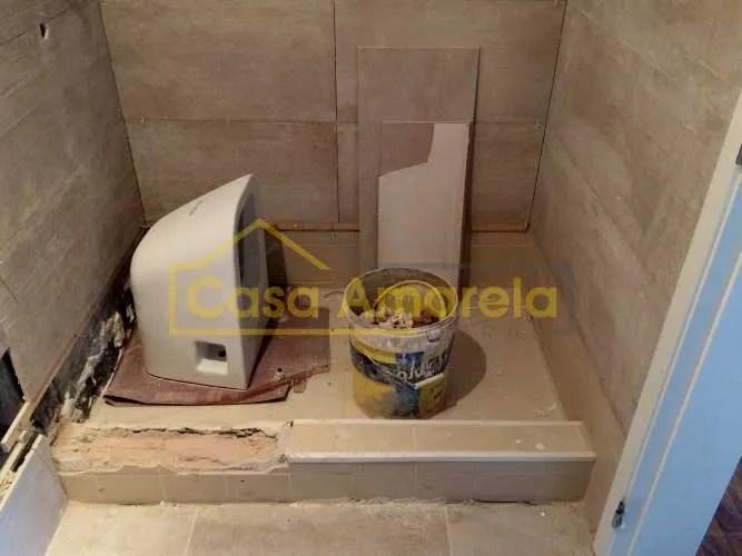 Remodelação de casa de banho trabalhos
