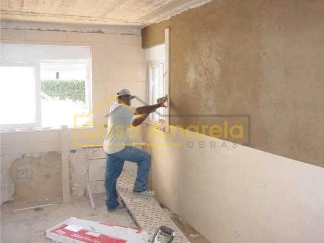 Trabalhos de remodelação