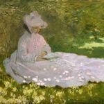 """Obra """" Primavera""""- Claude Monet- 1872"""