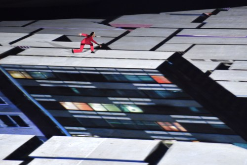 Video Mapping - Casa Ao Cubo - Olimpiadas Rio 2016 - Imagem Fabrice Coffrini - Getty Images