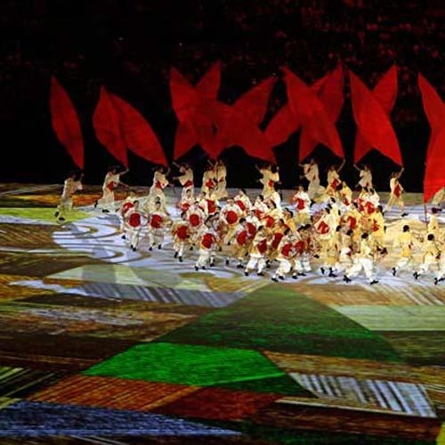 Video Mapping - Casa Ao Cubo - Olimpiadas Rio 2016 - Imagem Adrees Latif - Reuters