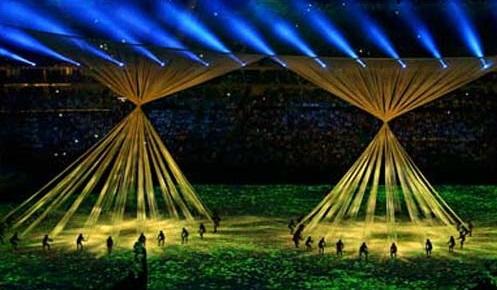 Video Mapping - Casa Ao Cubo - Olimpíadas Rio 2016 - Imagem: Antonio Bronic - Reuters