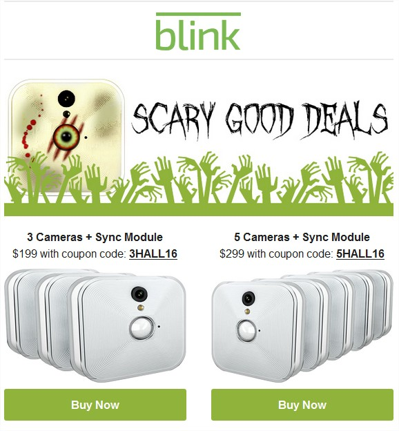 up to $50 off blink