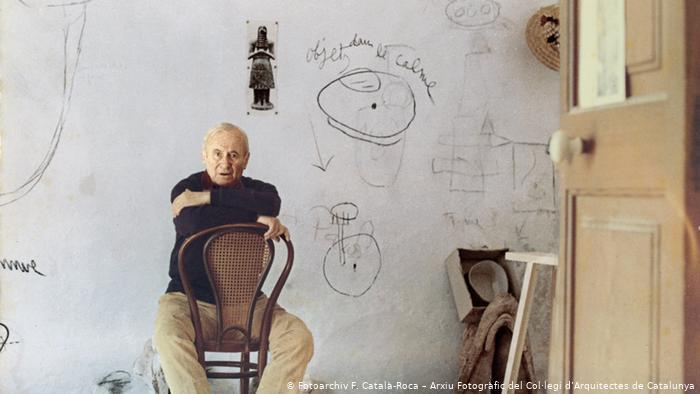 El maravilloso estudio de Joan Miró