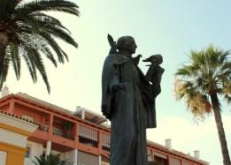 Statue på hovedplassen