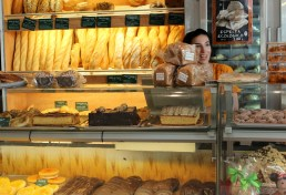 Ferske brød og bakevarer
