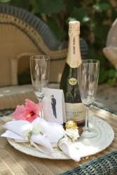 Champagne Toast at Casa Caesarea