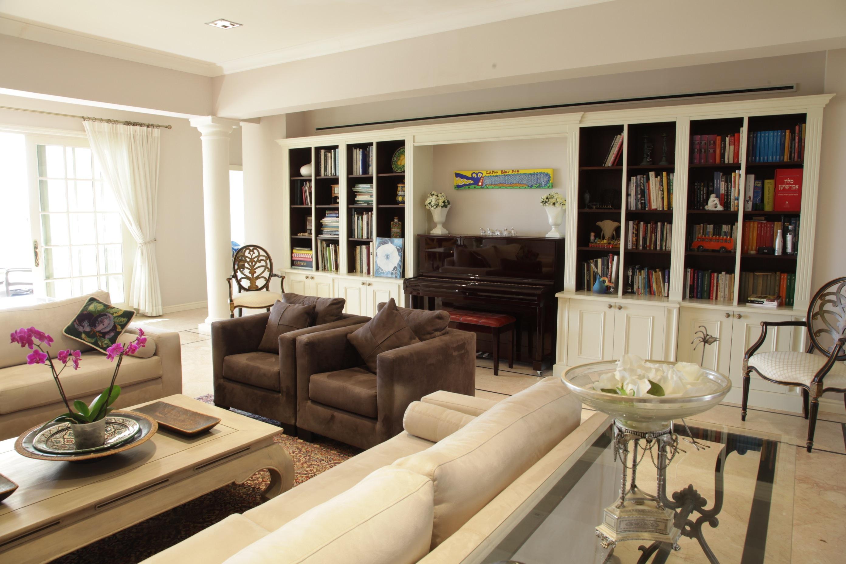 Living Room Piano Wall