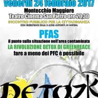 PFAS. Arriva Greenpeace | MONTECCHIO 24 feb