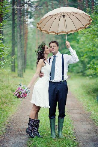 casamento chuva galocha 1