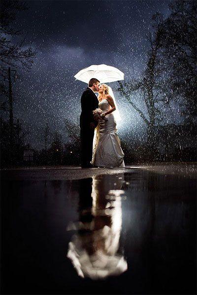 chuva casamento efeito luz 1
