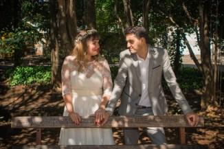 Casamento realizado em 30/08/2015, Praça Dolores Ibarruri.