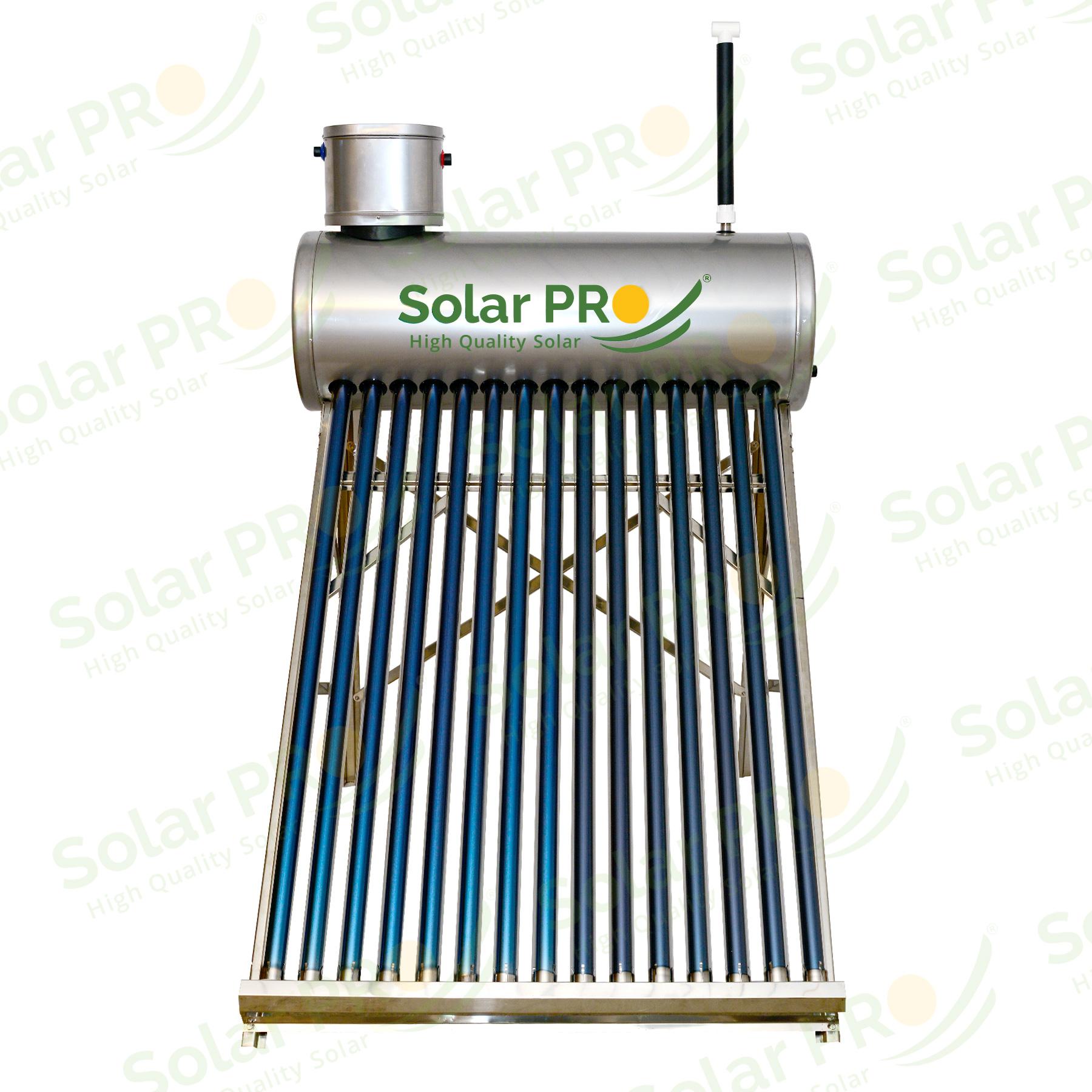 Panou Solar apa calda INOX 195 l