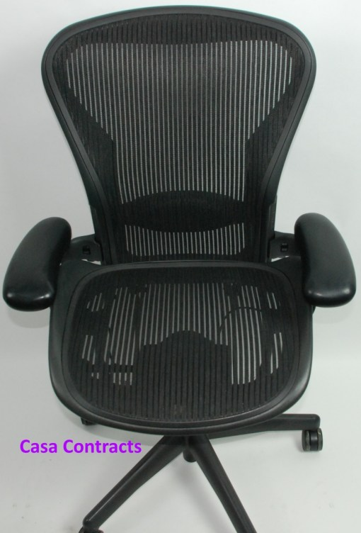 Herman Miller Aeron chair mesh base and back 2a