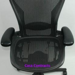 Herman Miller Aeron office chair mesh base and mesh back