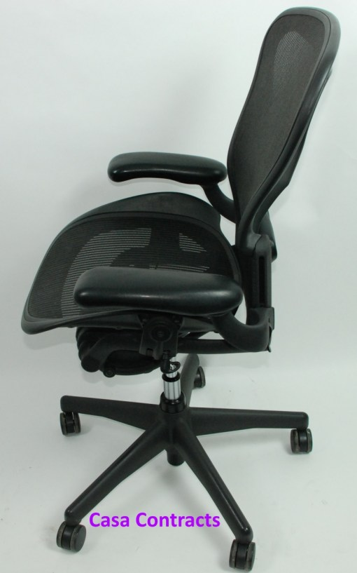 Herman Miller Aeron chair mesh base and back 3a