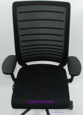 nterstuhl Hero 172H chair black fabric base mesh back