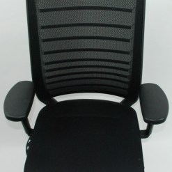 nterstuhl Hero 172H chair black fabric base mesh back