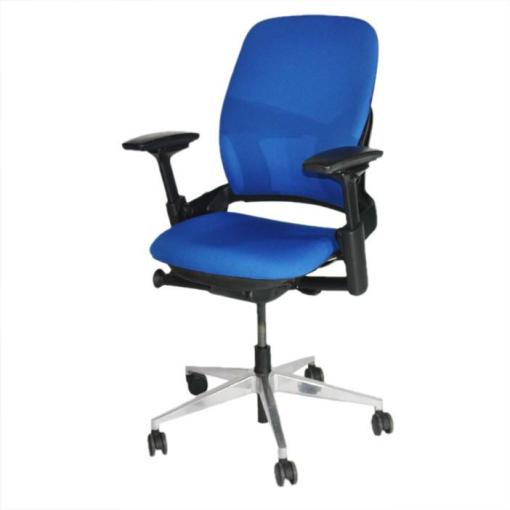 Steelcase_Leap_V2_Chair_in_new_blue_fabric