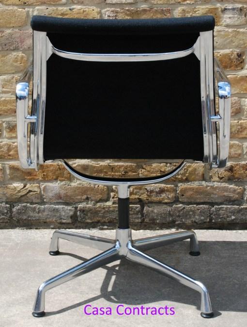 Vitra Eames EA108 Black Hopsak Aluminium Group Chair 3